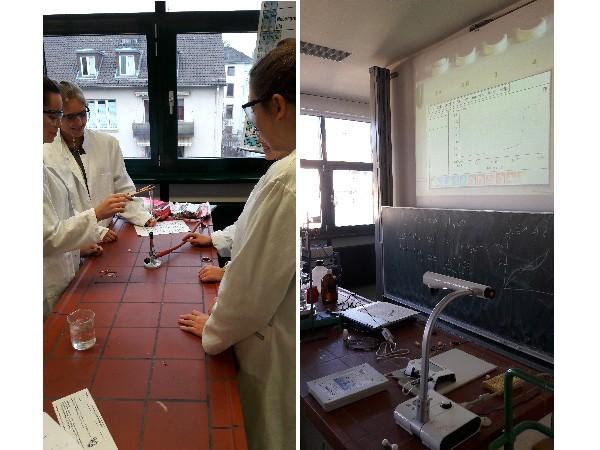 im Chemie Labor